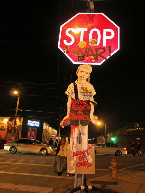 racetobitchmountain:  Occupy Miami. Stop the wars!