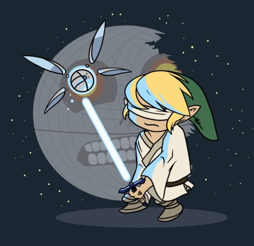 tiefighters:  Use The Triforce, Link  - by Kelly A. Bornstedt DeviantArt || Twitter