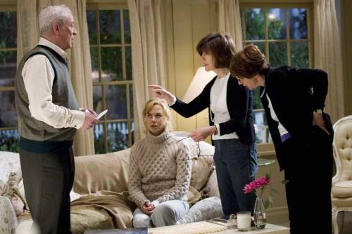 tumblr lvmiowP4RD1qisxvio1 500 Michael Caine, Nicole Kidman and Nora Ephron on set of Bewitched...