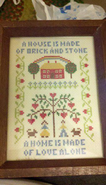 I love cross stitch. I wish I could do some myself but between my carpal tunnel and my arthritis I'd never get anything done. So I live vicariously through other peoples' hard work LOL