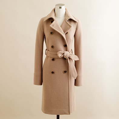 Christmas Wishlist: Boulevard Trench from J.Crew