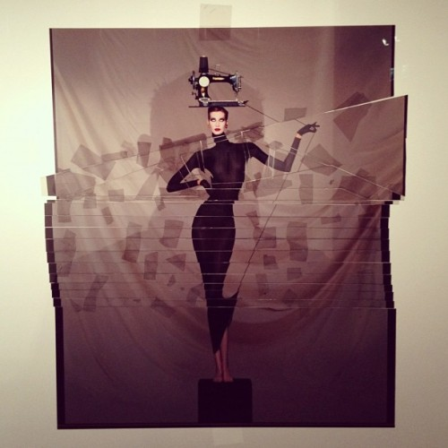 nicolaformichetti:  JP Goude exhibition paris  (Taken with instagram)