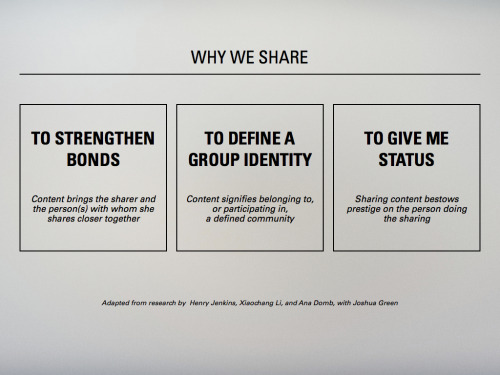 neilperkin:  Why We Share