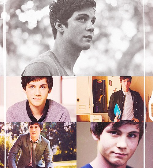 "sheisapirate:  FLAWLESS PEOPLE | Logan Lerman  ""Life is a rollercoaster ride and I don't indend on being the one screaming and hanging on for dear life."""