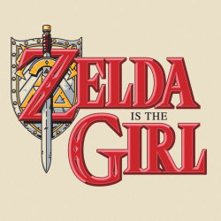 bustedtees:  Just in case no one ever told you that the Princess of Hyrule is a girl.