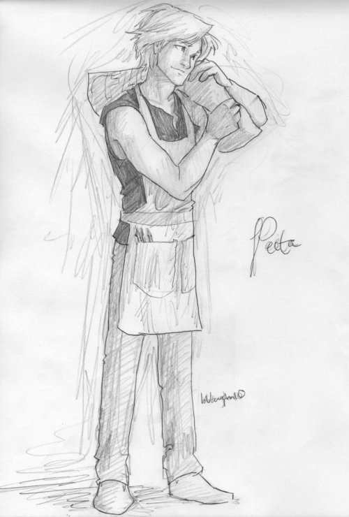 bread-on-fire:  Peeta by *burdge-bug