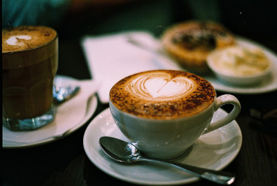 Caffe Latte by La Branĉaro on Flickr.