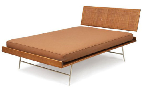 midcenturyapartment:  George Nelson thin edge bed by Herman Miller.   need this