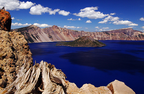 view-earth:  Crater Lake from Garfield Peak Trail, 2007 Study (by LiefPhotos)