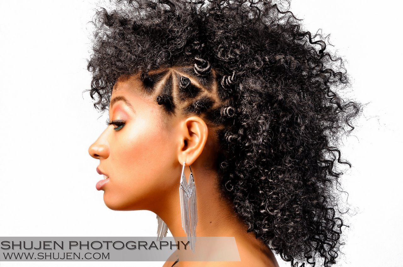 Masusu Kinks Natural Hair Model