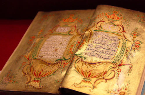 nyx2701:  Beautiful 16th Century Qur'an.