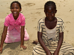 two beautiful girls of Nioumachoua, Grand Comore, Comoros  photo by Chris Kean