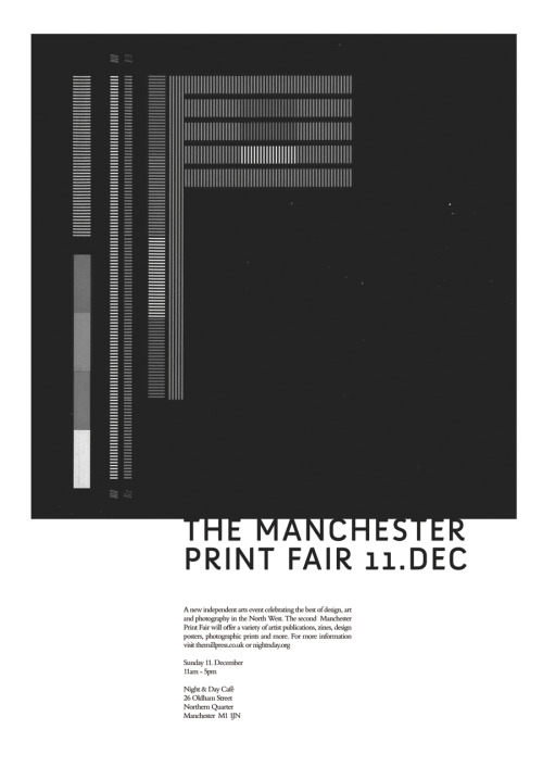 Manchester Print Fair, December 2011. It's happening at Night & Day, Oldham St., Manchester. 12-5pm. Come down and say hi! We'll post some sneaky pics of a couple of things you'll be able to buy from our stall. Expect prints, cards, postcards and chat about tea…Invite your friends here » MPF on Facebook. #Funtimes!
