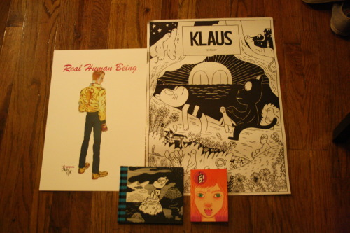 My haul from the Brooklyn Comics and Graphics Fest! So happy to have all these now!