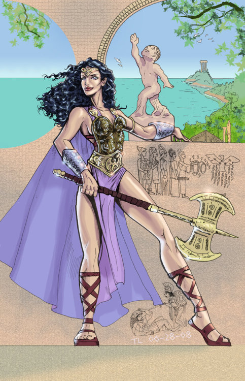 Queen Hippolyta by DragonArcher Magic Monday