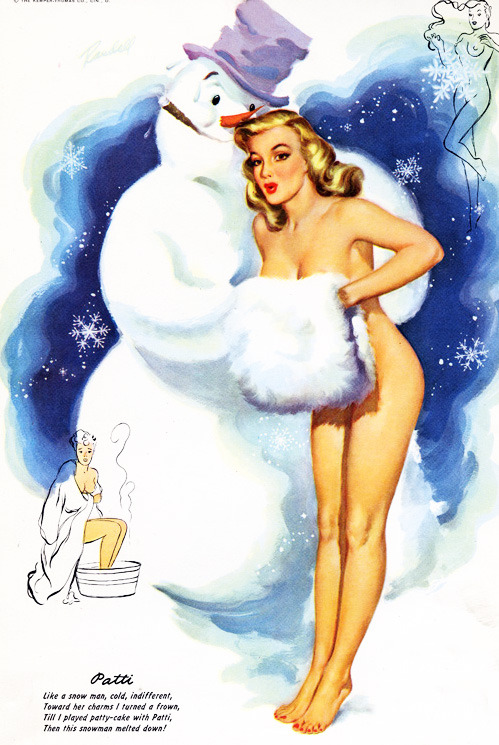Illustration by Bill Randall, 1952