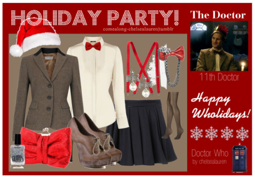 The Doctor (11) - Wholiday Party! - | Doctor Who - Click Here!
