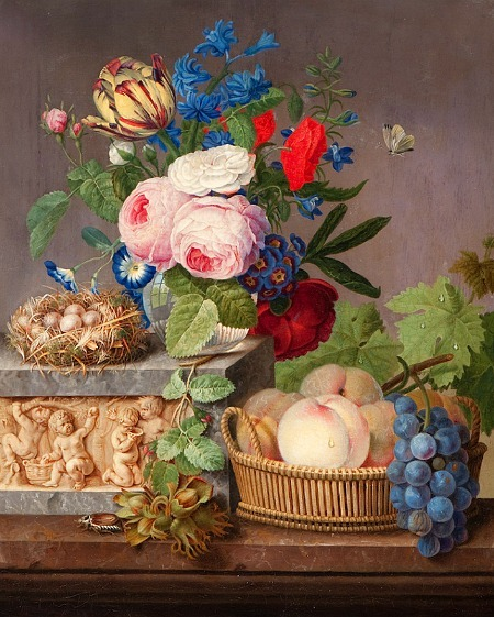 Michel Joseph Speeckaert Floral Still Life Late 18th - early 19th century