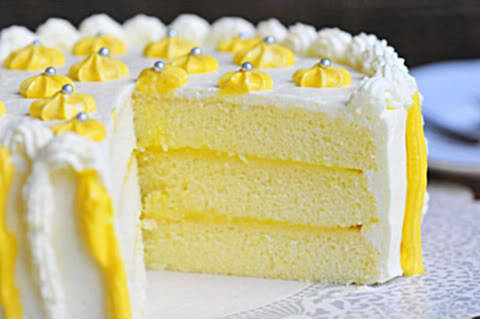 Triple Lemon Chiffon Cake! (recipe)
