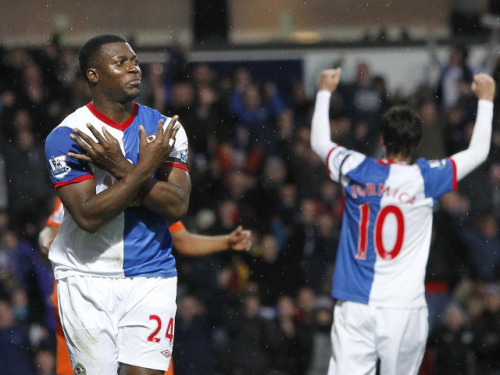 thank you Yakubu, four goals to gain us our first win in what seems like an eternity BRFC <3 ROVERS TILL I DIE!