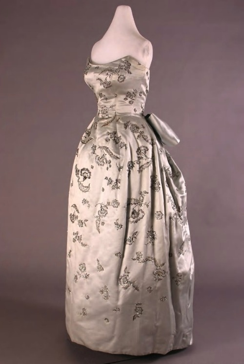 Dior ball gown, 1955 From the Henry Ford Costume Collection