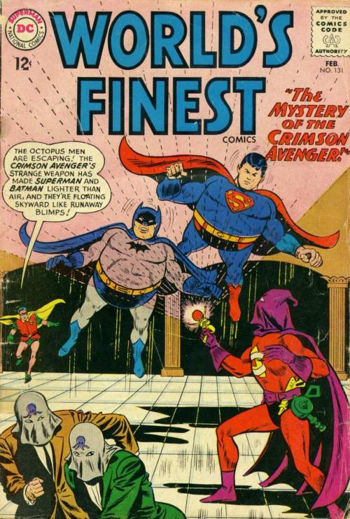 powerboy:  World's Finest Comics #131 February 1963 Dick Dillin (pencils) and Sheldon Moldoff (inks)