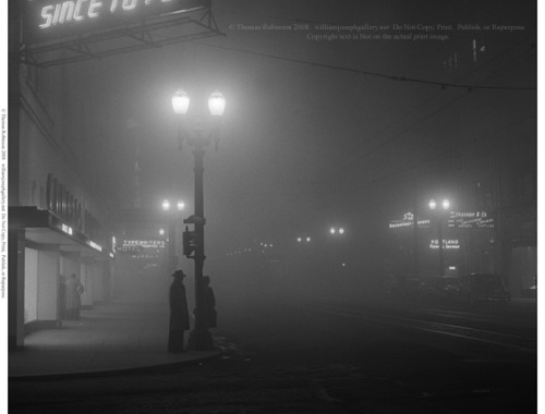 Randomness |40s  Fifth Avenue at SW Oak Street, February 1, 1948 Portland, Oregon USA