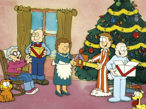 One of my favourite Christmas specials: A Garfield Christmas :)
