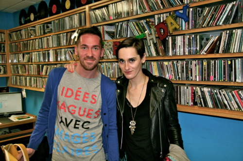 with yelle. miami art basel 2011.