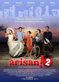 Arisan! 2 (2011) Director: Nia Dinata Stars: Tora Sudiro, Surya Saputra, Cut Mini, Aida Nurmala, Rachel Maryam. Nothing is straight in this life. The idea just came over me after finishing the film. 8 years after the first film, which was ground breaking and becoming talks of the country, and the short lived TV episodes, all the characters were brought by the director and the writer of the film, Nia Dinata, to a new phase in their lives. Still glamorous and witty, Arisan! 2 is just classy per se.  Numbers of noisy arisan ladies were reduced significantly, yet casual botox, wrinkles bitching, parties, and well dressed people will entertain your eyes, and mood - if not also bitching about it personally. With the separation of Sakti and Nino, with the death of Andien's husband, the birth of the fatherless son of Lita, and the single Memei, comes along several new characters which brought the edge of the film. Suddenly everyone is married, and bisexual, and keeping it discreet for - whatever reasons. Wicked menage a troi. Some of those people do exist in the capital city, the big Durian. Dealing with new problems in their own life, the film also brought us to the heavenly scenery of Lombok. A perfect choice. And a nice move to help boosting the tourism campaign of the country too. Somewhat I feel this film is the 'Eat, Pray, and Love' of local film. It has that new edge feelings inside. A new character strongly presents this feeling in the film. And Lombok is just the right place to set all the mood up. While dealing with new people, problems, and love, the characters also have to look inside their friendship over an issue which cause an emotional, and physical impact to one of them - which could be the twist of a possible 3rd sequel for the successful films. Nia Dinata also brought the new edge feelings by taking her audiences to Borobudur where Vaisakh ceremony was held and one of the character has to go there to encounter  a new profound consciousness in her life. I love how Nia generally and frequently took wider, and bigger shots of everything. Nothing in the film seems squeezed. And that kind of shots were perfect for scenes in Borobudur, Lombok, and while the characters were snorkeling. This film is not that feel good film, but somehow after finishing it, you will walk out of the cinema feeling good. Again, worry a little bit with how people from other parts if of the country would perceive the film. Cause we are talking about Jakartans, with their odd life. The casts? audiences love them - the characters have perfectly fit them after 8 years of waiting for them to comeback to the widescreen. Yet, minor characters have fallen into - well - forced acting or simply making the screen 'so noisy' Relax. It's all about sex. And how people hide it.