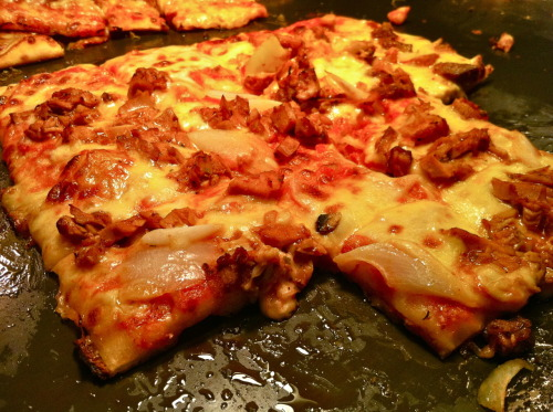 changing-appetites:  Roasted Lamb Pizza