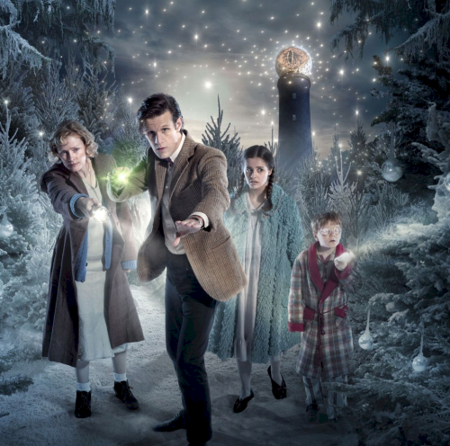 "Moffat decided that one fantasy classic wasn't good enough, so this year's Christmas special will be called ""THE LORD OF THE NARNIA TARDIS"""