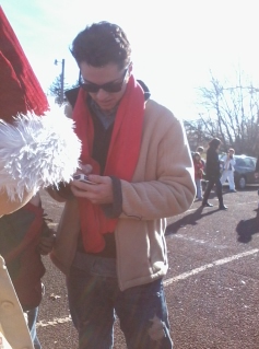 Took this picture yesterday <3 He reminds me of bruno mars in this picture :)