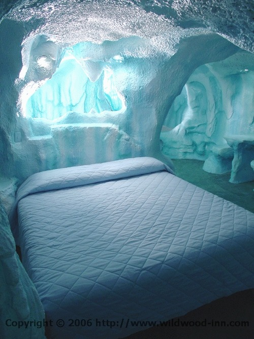 I want this room, except as a man cave.  An artic themed man cave would be awesome.
