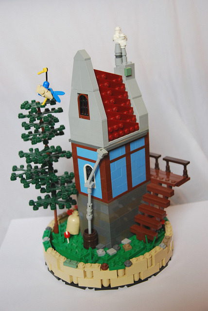 medival scene by Legopard on Flickr.