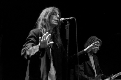 suzannafromhell:  Patti Smith - Cambridge - October 2007 by Chris Boland on Flickr.