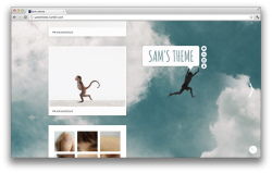 Sam's Theme Version 4 is coming! You can preview (the work in progress) here. The update will be introduced as a separate theme for those who don't want to give up the previous version. The theme is full of fixes mainly addressing inconstancies in appearance, the sidebar has been redone and posts are cleaner and clearer. As well as some cosmetic changes: the background has been redone, Sam (the jumping person) is now a separate image that can be replaced, modified etc and the fonts have been changed.