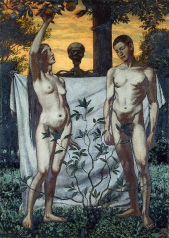 Adam and Eve by Hans Thoma 1897