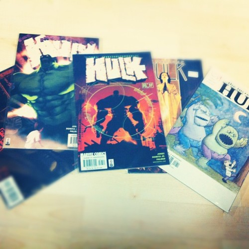 Comic find, nearly the whole Return of the Monster run. (Taken with instagram)