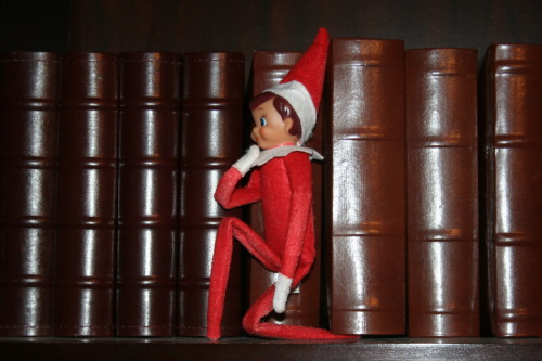 Elf on the Shelfbowing