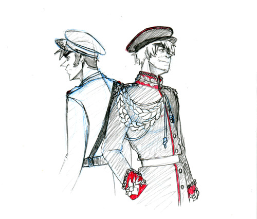 royal Calvary uniform!england and military uniform!ireland.done while watching a show bout how awesome mary mcalese (spelling fail) was! republic of ireland OC beloning to noodleschan : http://noodleschan.deviantart.com/art/La-Na-Padraig-201217211