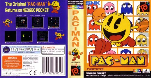Pac-Man Neo Geo Pocket cover.