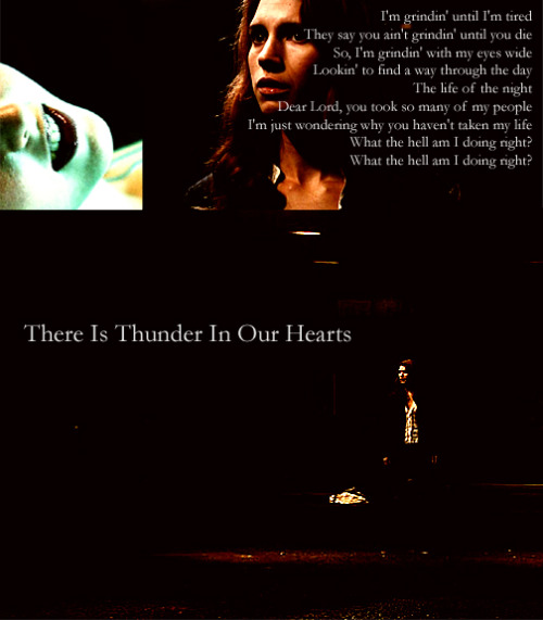 msbrokenbrightside:  There Is Thunder In Our HeartsDetective Anna Milton just got promoted to Homicide from Vice after a lucky break. Her first case is a string of deaths perpetrated by a killer that the press has named 'The South End Slayer'.| the soft moon |