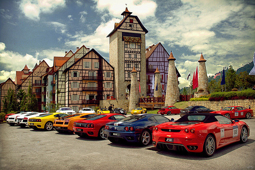 dgasf:Ferrari  Paradise City on Flickr