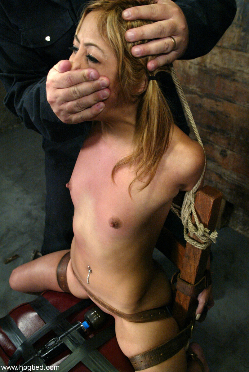 yourbadgrrl:  You better cum fast if you want to breath, little girl…