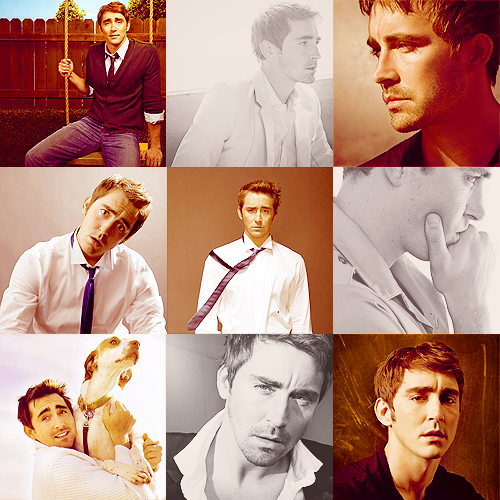 9 favorite pictures - Lee Pace