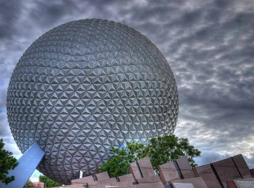 johnffuckingkennedy:  Sunset at Epcot  3 weeks