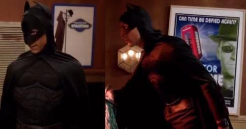 nerddancer:  Abed has TWO Inspector Spacetime posters. I really want to know who on the Community staff is such a Doctor Who fan.  The question isn't who is such a Doctor Who fan… but WHEN is such a Doctor Who fan.