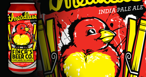 5 DAYS LEFT to vote for our Threadless/Finch's beer can contest! Please do us a solid and vote! Give us a high 5! Thanks INTERNETS!