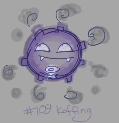 Day 4 Koffing. Poison